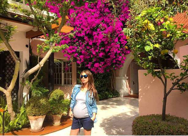 Кети Топурия будет рожать в Америке фото