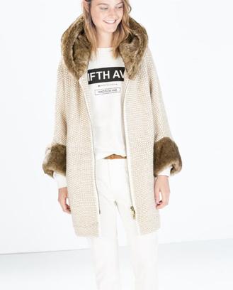 модные пальто с мехом