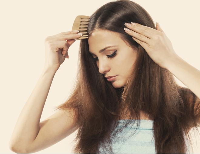 выпадение волос из-за стресса