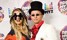Ксения Собчак и Иван Охлобыстин шокировали зрителей премии «Муз-ТВ»
