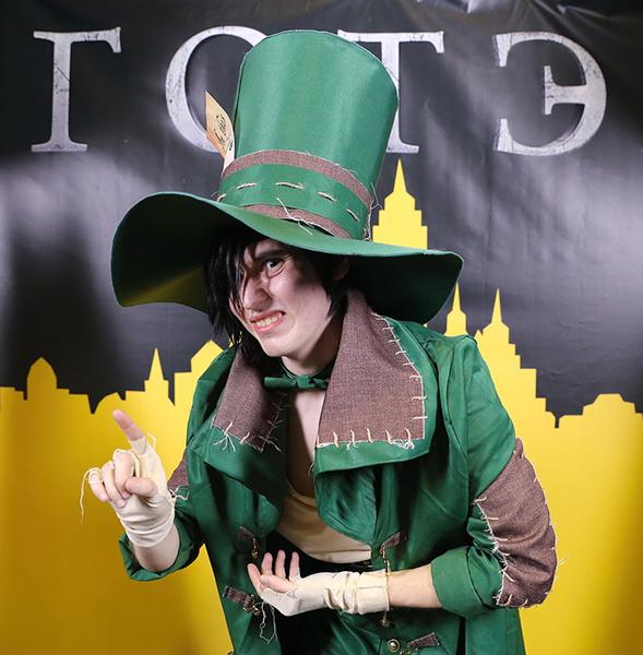 Безумный Шляпник, комикс-конвент «Готэм», фото