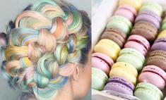 Кондитерский шик: окрашивание волос в оттенки пирожных