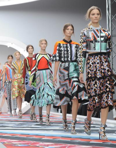 Неделя моды в Лондоне: Peter Pilotto, весна-лето 2013