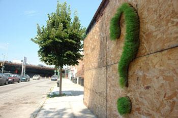 Экограффити оживляет городской пейзаж