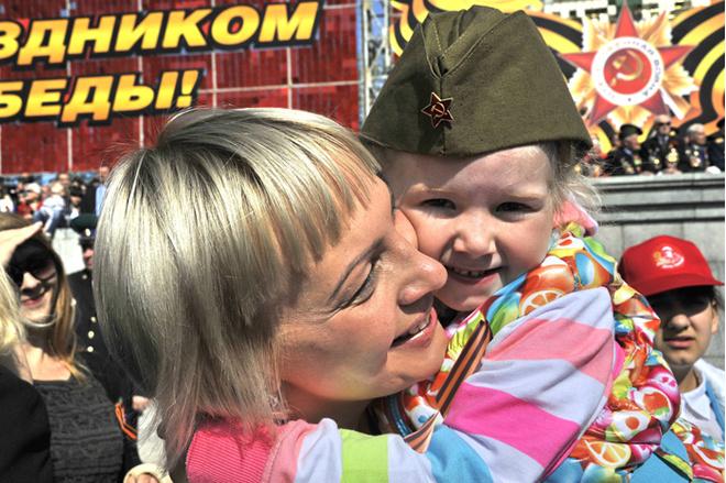 Волгоград, 9 мая, День Победы 70, георгиевская лента, афиша Волгограда, праздник, акция