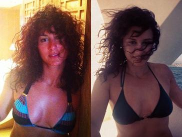 Тина Канделаки отдыхает на яхте, время от времени демонстрируя поклонникам свои фото в купальнике