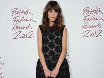 Алекса Чанг (Alexa Chung) на British Fashion Awards 2012