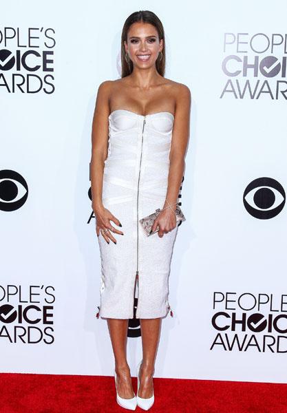 Джессика Альба на People's Choice Awards 2014