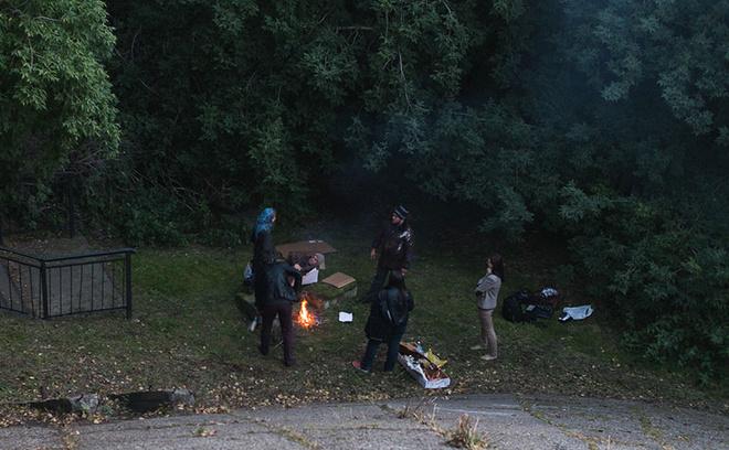 съемки фильма «Ночь велосипеда» в Кемерово