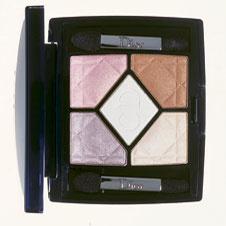 Dior Фирменная палитра шелковистых теней 5 Couleurs с поэтичным названием «Янтарное сокровище»
