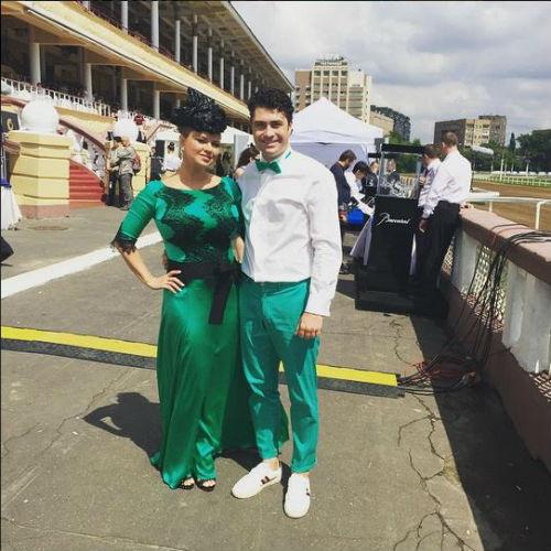 Скачки Гран-при Радио Монте-Карло: Анна Семенович, Дмитрий Оленин фото