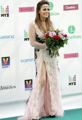 Премия Муз-ТВ: наряды звезд