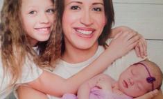 Борщева впервые показала младшую дочь