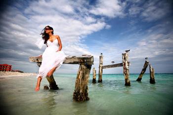 Свадебное фото Del Sol Photography.