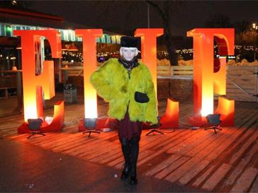 Специально для гостей праздника журнала ELLE свой сет сыграла DJ Eva
