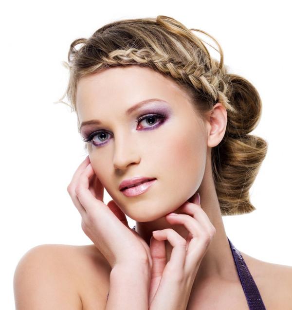 Как заплетать косы на волосах средней длины