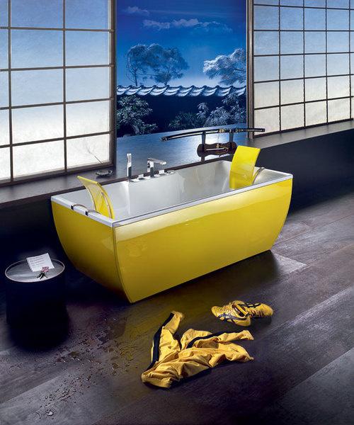 Ванна Kali из коллекции Kolor Line, BluBleu, www.blubleu.it, ТД «Сантехника 7».