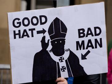 Карикатура на Папа римского