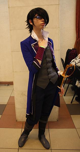 Сарухико Фушими из аниме K Project, фестиваль фэнтези и фантастики