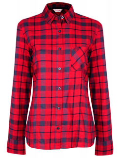Фланелевая рубашка Miss Selfridge