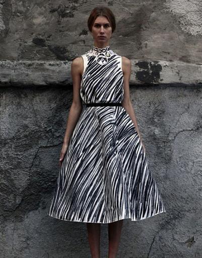 Выпускной: платье из коллекции Vika Gazinskaya, весна-лето 2012