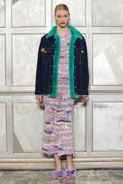 Самые красивые образы Недели моды в Лондоне | галерея [1] фото [40]