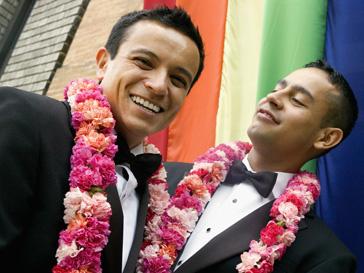 Штат Нью-Йорк узаконил однополую любовь