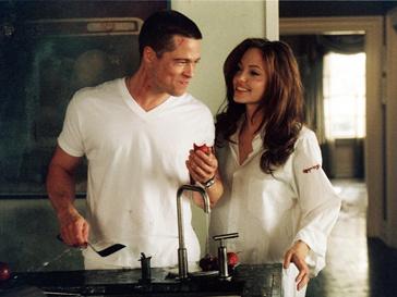 Кадр из фильма «Мистер и Миссис Смит»