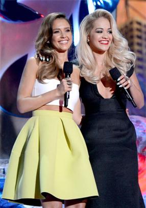 Джессика Альба, Рита Ора на MTV Movie Awards 2014