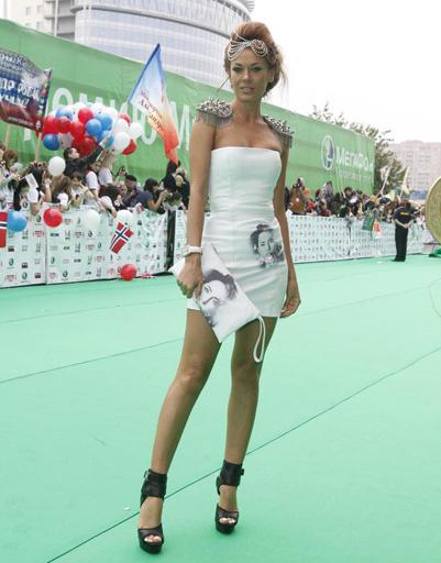 Таня Терешина на Премии Муз-ТВ