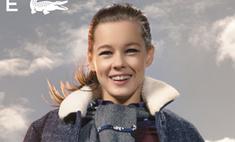 Российские звезды впервые снялись в рекламе Lacoste