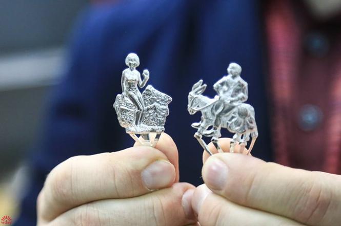 Как создаются изделия из серебра