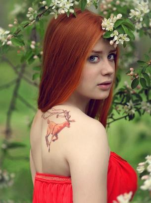Девушки с татуировками Тулы, Юлиана Ральф