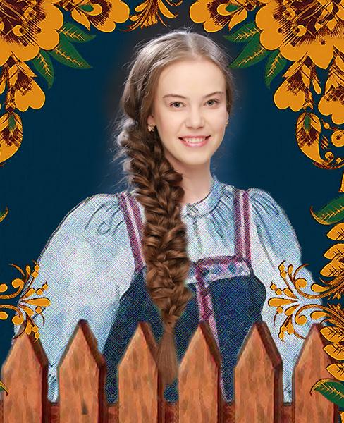 Галина Пажанцева, «Уральская краса – русская коса», фото