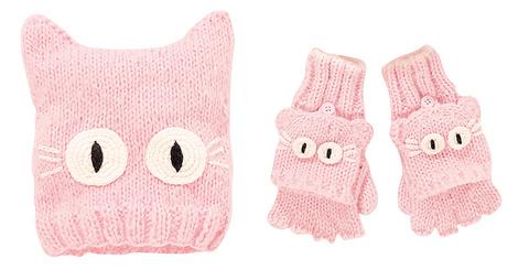 Шапка и перчатки, next.com.ru, 649 руб. - 699 руб.