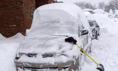 Снежные заносы в Москве отменяются