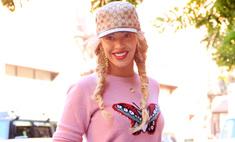 Розовый кошмар: стилист напортачил с нарядом Бейонсе