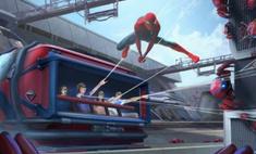 disney показал робота костюме человека-паука выполнять воздушные трюки