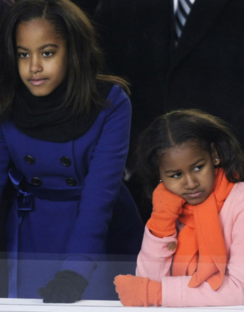 Малия и Саша Обама