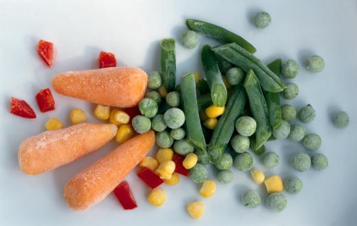 есть ли витамины в замороженных овощах