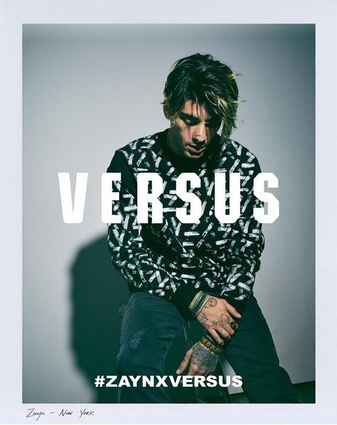 Как выглядит коллекция Зейна Малика для Versus Versace | галерея [1] фото [2]