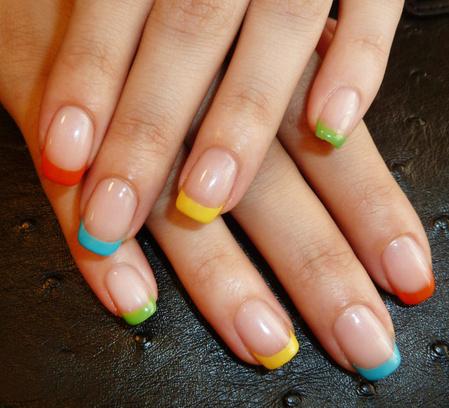 маникюр, модный маникюр 2014, ногти, шеллак