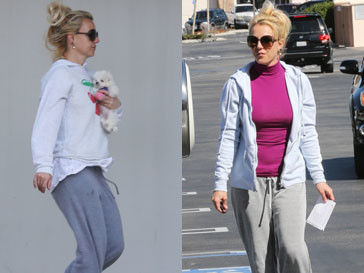 Бритни Спирс (Britney Spears) променяла женственные платья на растянутые треники и грязные толстовки