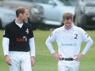 Принц Гарри (Prince Harry) и принц Уильям (Prince William)