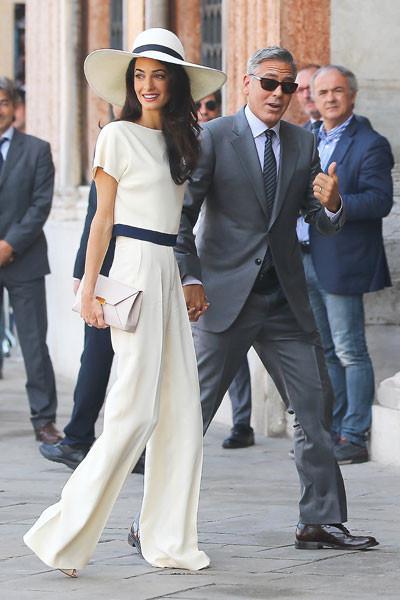 Джордж Клуни и Амаль Аламуддин, новости-2014