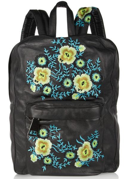 Кожаный рюкзак Christopher Kane