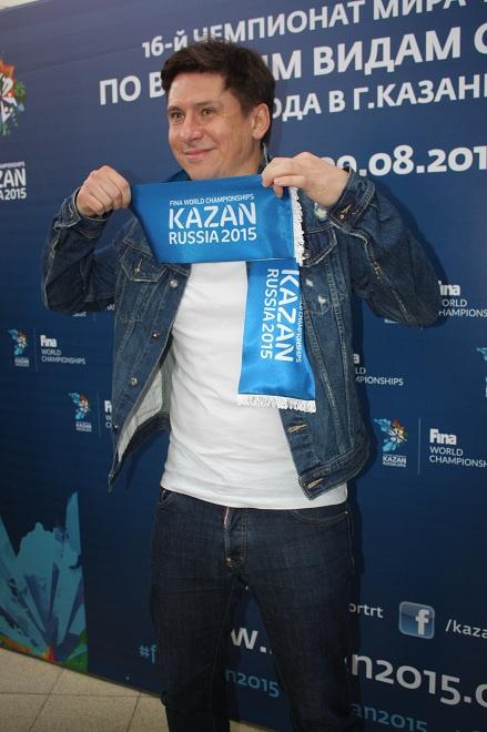 Тимур Батрутдинов посол Чемпионата мира по водным видам спорта 2015