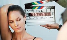 Кристи Тарлингтон вновь рекламирует нижнее белье Calvin Klein