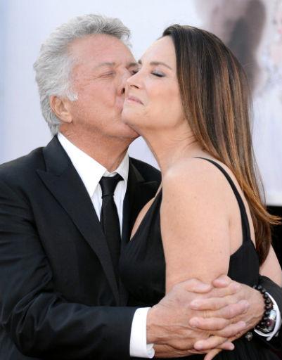 Дастин Хоффман (Dustin Hoffman) с женой