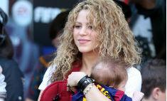 Шакира с детьми поболела за бойфренда